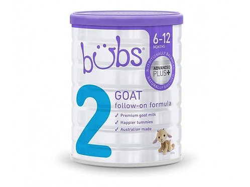 Bubs Advanced Plus+ 2 Goat Milk Follow-On 800g