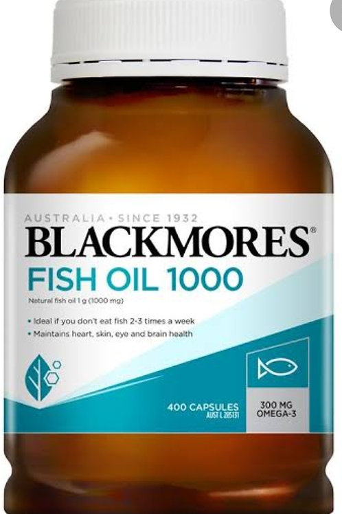 Blackmores Fish Oil 1000mg 400 capsule