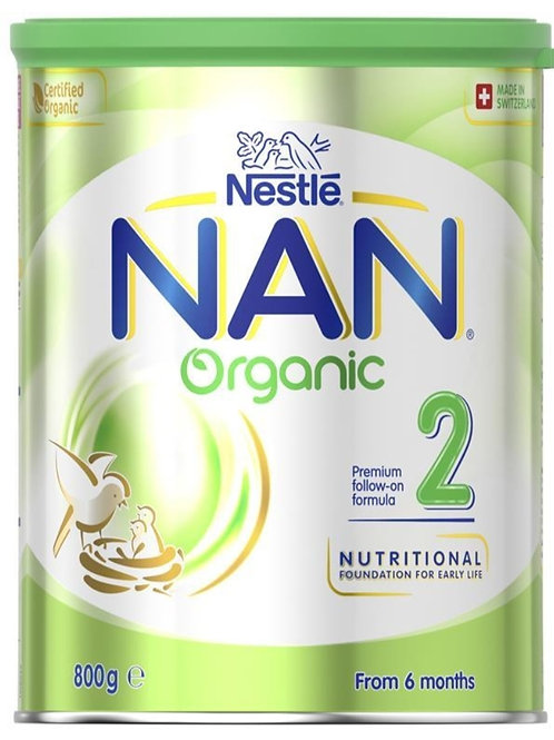 Nan Organic Step 2 Follow On Formula Stage 2