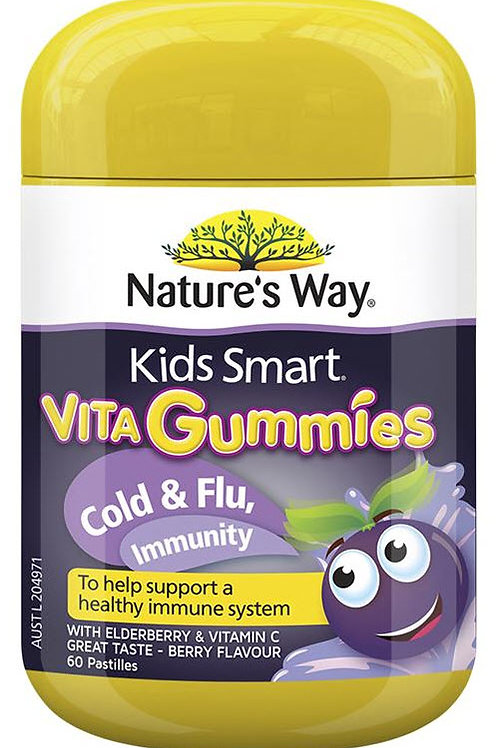 Nature's Way Kids Smart Vita Gummies Immunity 60 Pastilles
