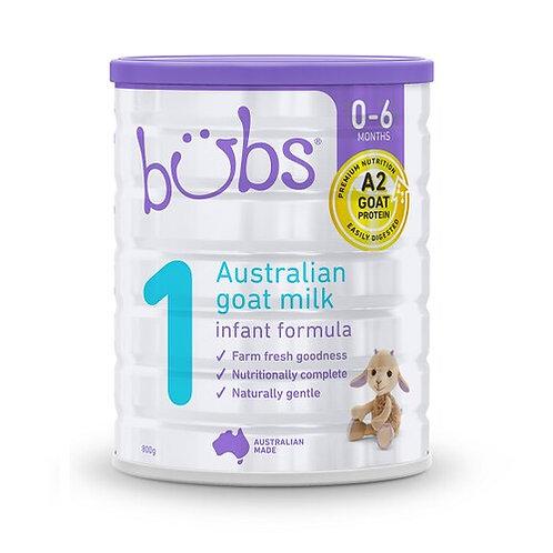 Bubs Goat Infant Formula 800g