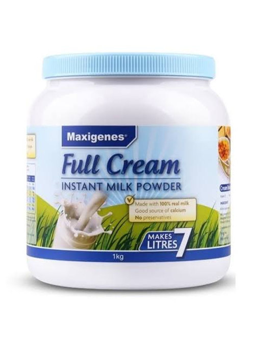 Maxigenes Instant Full Cream Milk Powder 1kg