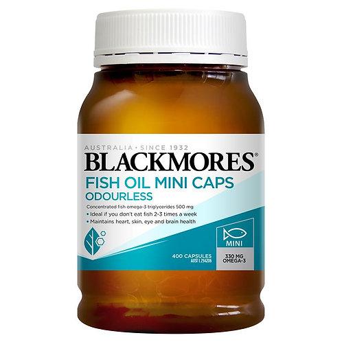 Blackmores Fish Oil Mini Caps Odourless 400