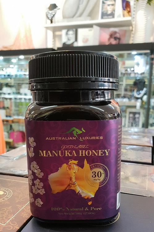 Manuka Honey Certified MGO 30+ 500g Gold Label HACCP GMP PURE
