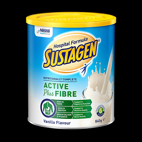 Sustagen Hospital Formula Vanilla Active + Fibre 840g