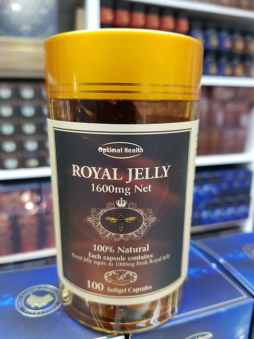 Optimal Health Royal Jelly 100 Capsules GMP HEALTH AUSTRALIA