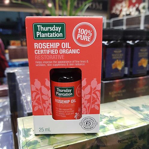 Thursday Plantation Organic Rosehip Oil 25ml