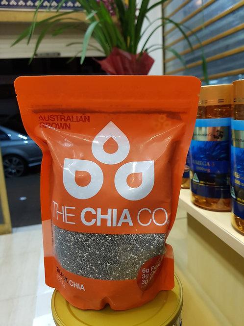 The Chia Co Black Chia 500g Australian Grown
