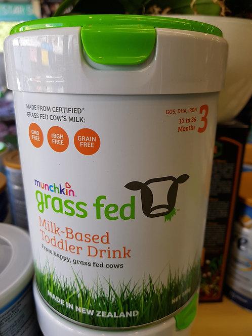 Munchkin Grass Fed Toddler Stage 3 Infant Formula