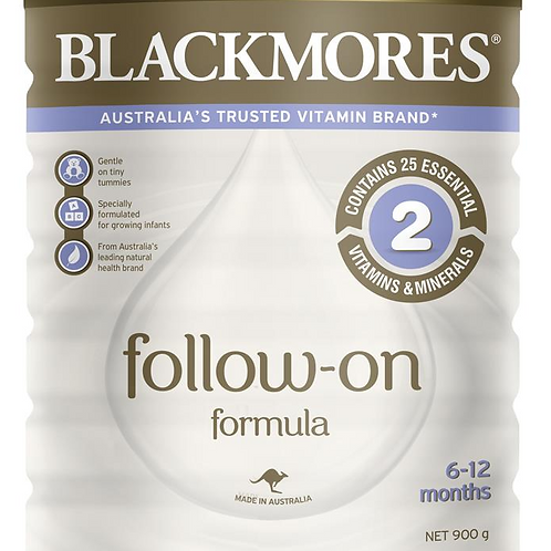 Blackmores Follow On Formula 900g (Stage 2) Step 2