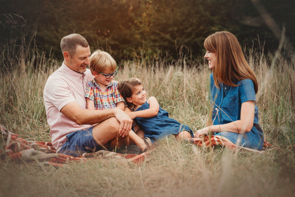 Wild Field Family Session
