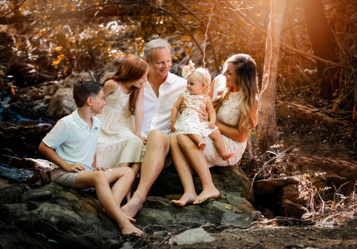 Family Session at Creekbed