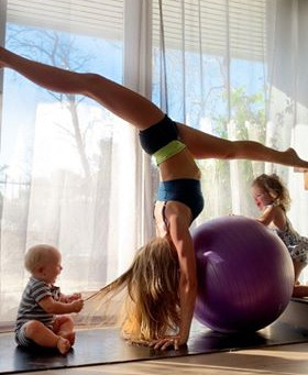 Top 10 tips for Mums to get on the mat