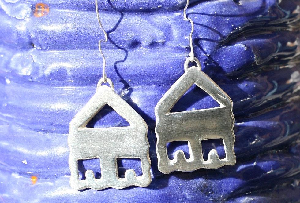 Wavy Home Earrings