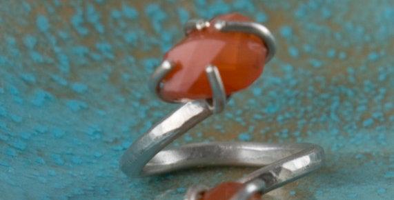 Marigold Snake Ring
