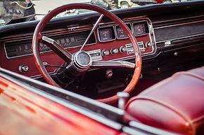 Tableau de bord de voiture classique