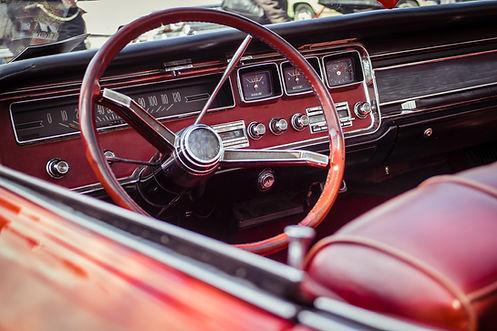 Oldtimer-Dashboard