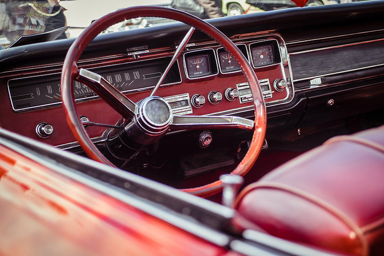 Classic Car Dashboard
