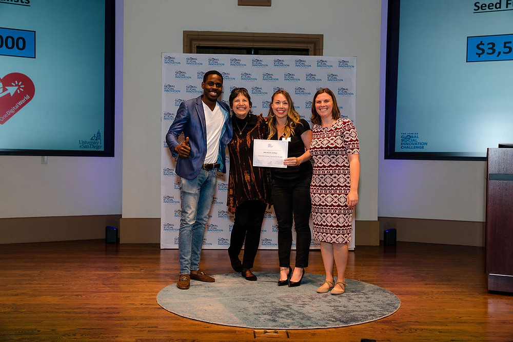Casey Myers and Momo Bertrand Receive 2019 GSIC Award for One Digital World