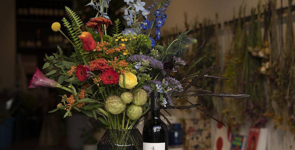 Jeff Koons Bouquet & Wine