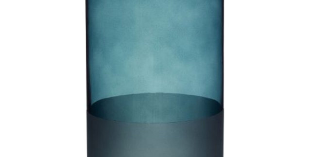 Vase Frosted Green