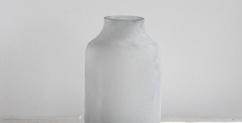 White Glass Frosted