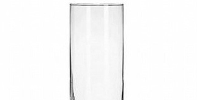 Clear Cylinder 20cm