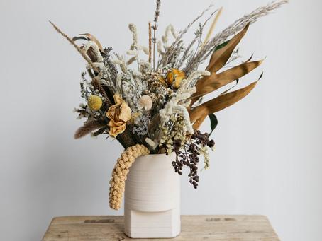 איך תאמצו את טרנד הפרחים היבשים