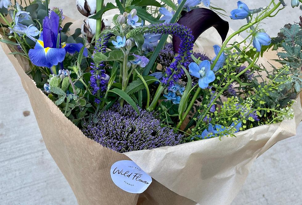 All Blue Bouquet
