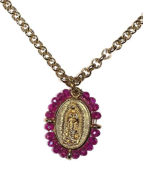 Medalla Virgen de Guadalupe y San Judas Tadeo