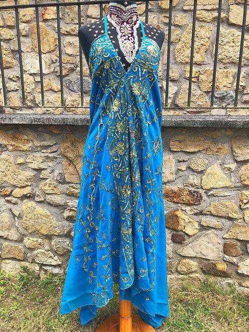 Saree Azul