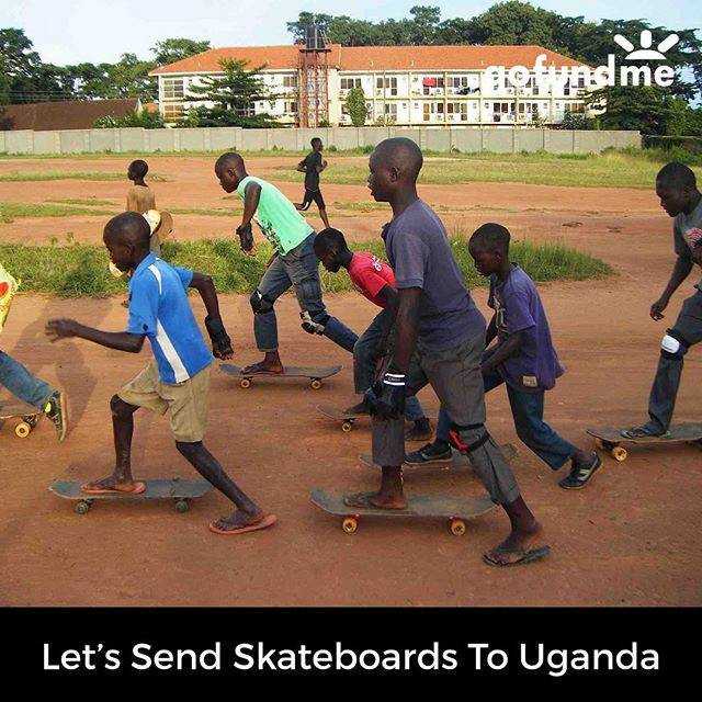 GoFundMe Skateboards for Kids in Uganda