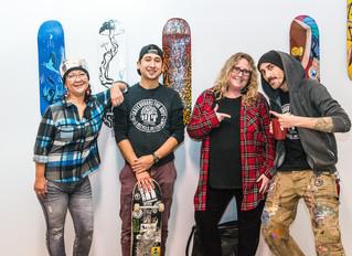 UnderPressure, UnderDogs & Skateboards For Hope