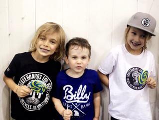 KIDCON Krazy Skateboarder Kids