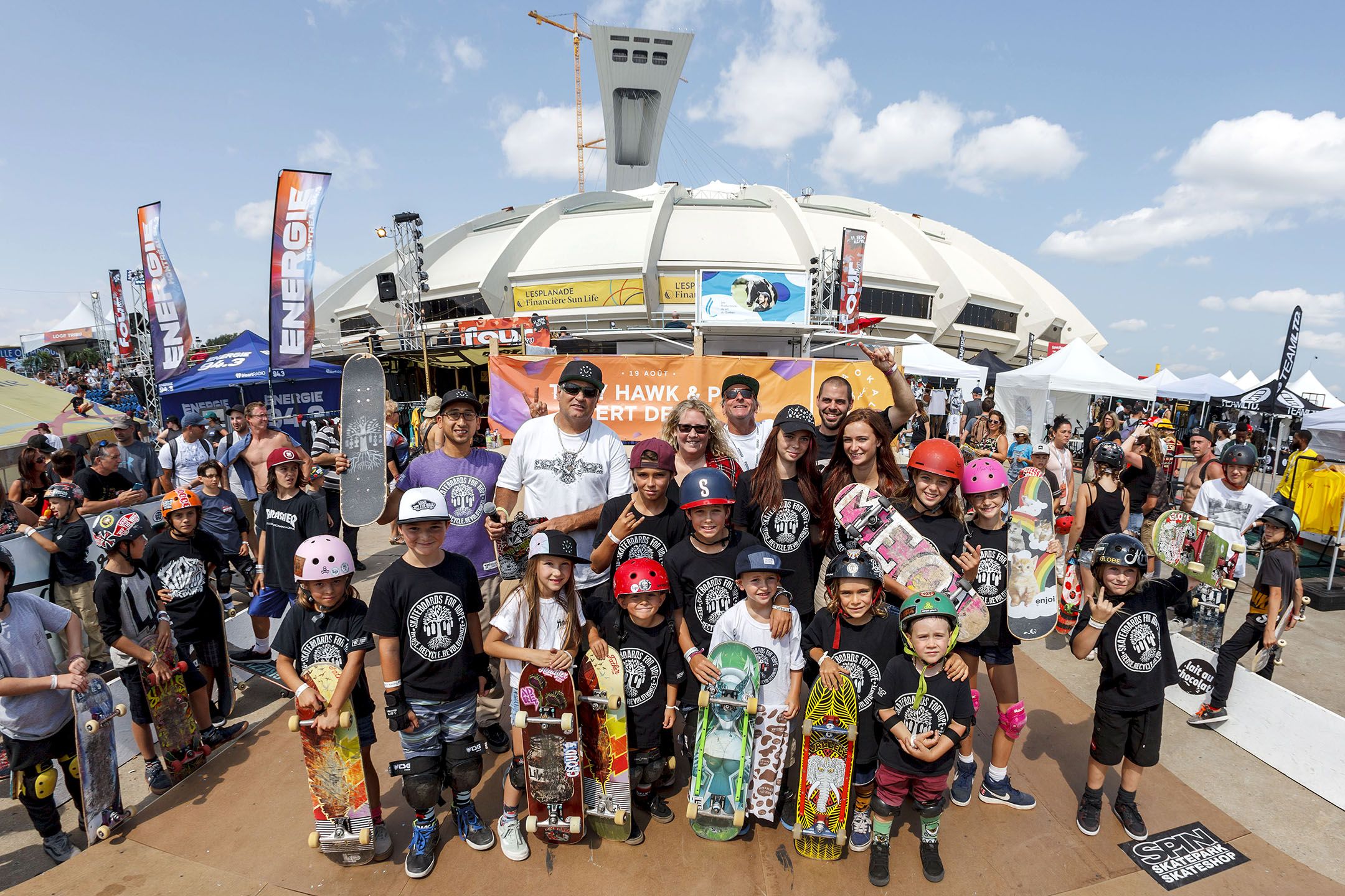 Skateboards For Hope and World Cup