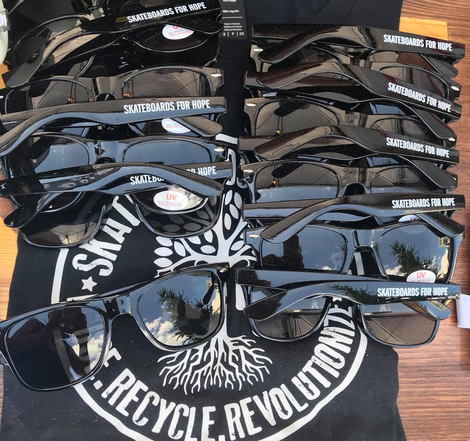 Skateboards For Hope Ray Ban Sunglasses