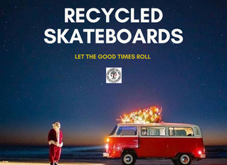 Happy holidays from your friends @SkateboardsForHope