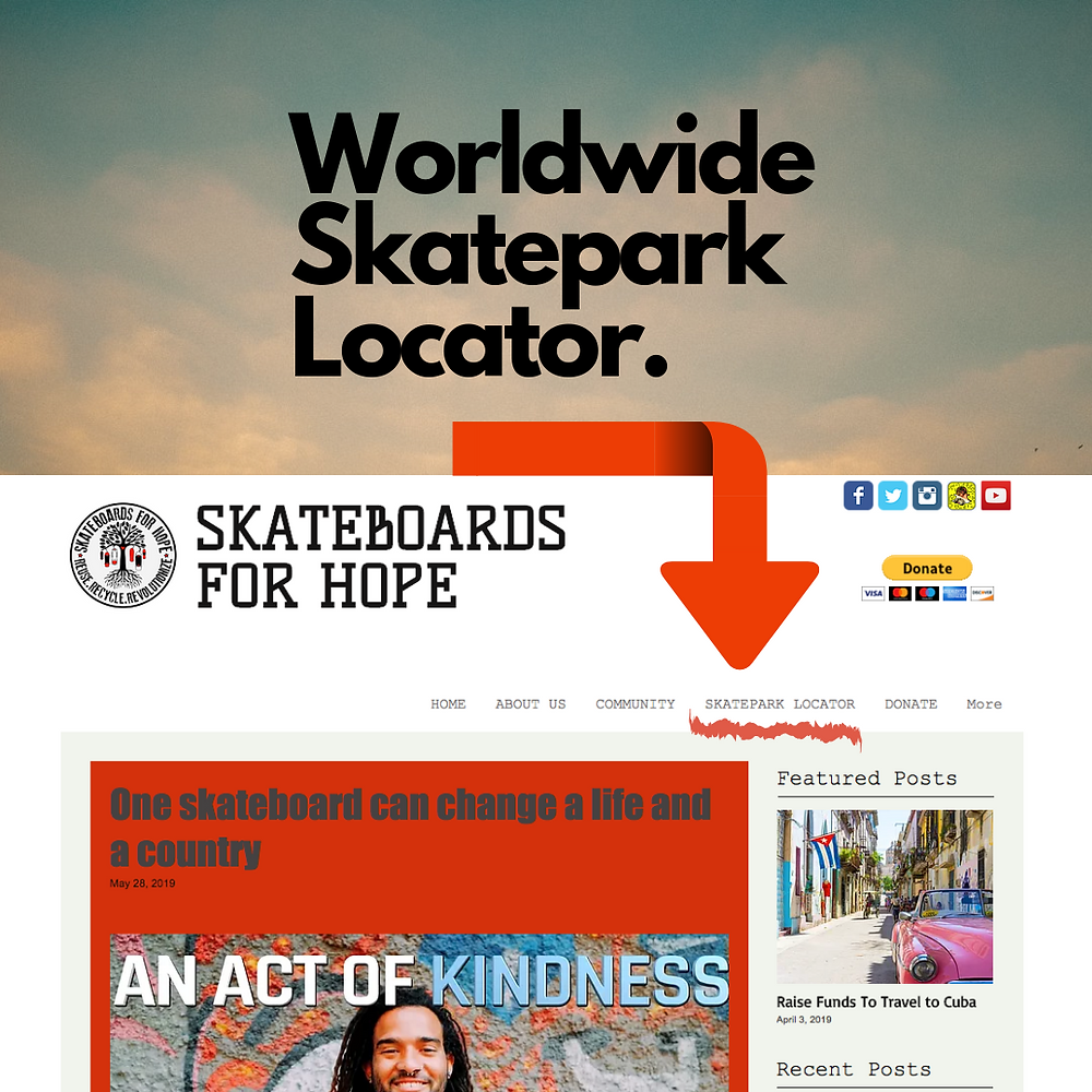 World Skatepark Locator