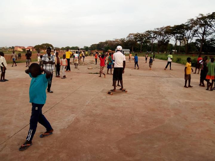 Bromah Grounds in Gulu, Uganda.