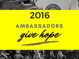 Skateboards For Hope is #givingtuesday NOV 29th and YOU CAN TOO!