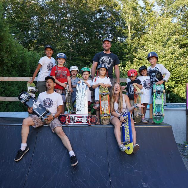 Skateboards For Hope Crew