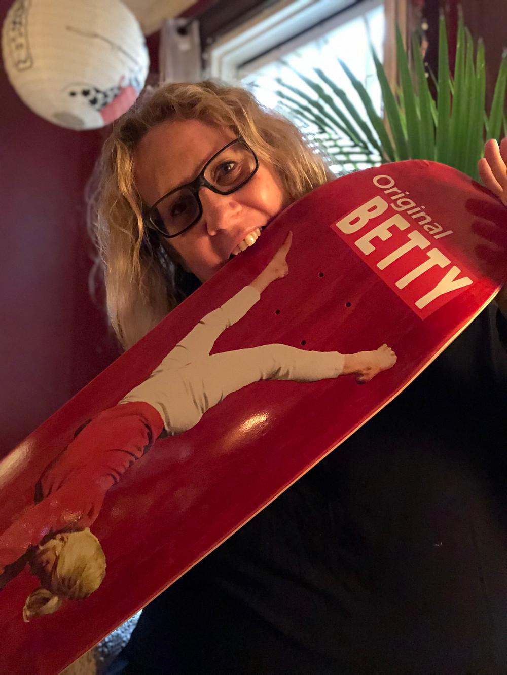 Silly Girl Skateboard Original Betty