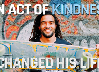 One skateboard can change a life and a country