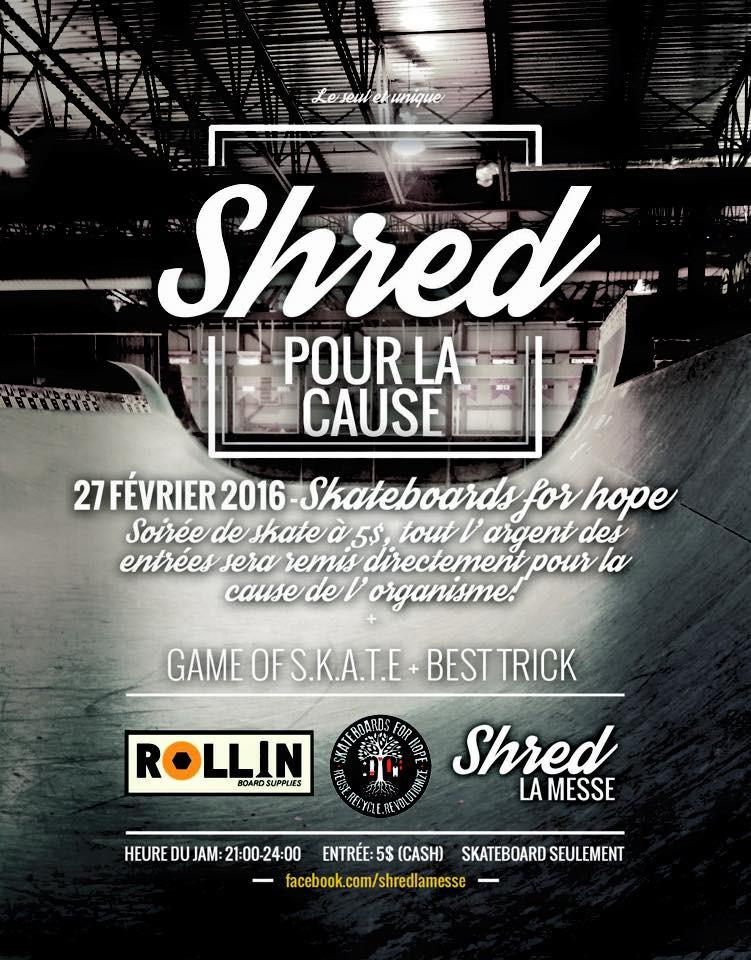 Shred La Messe