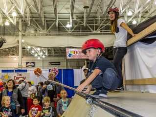Ambassadors Skateboard To Empower Local Children At KIDCON