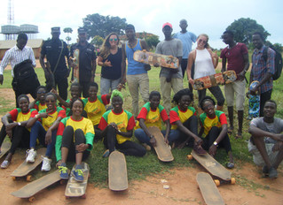 Miss Northern Uganda Can Skateboard