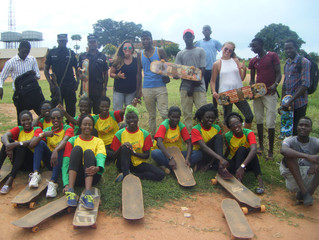 Miss Northern Uganda Can Skateboard