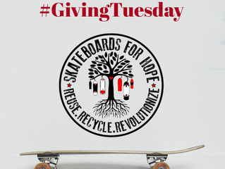 GIVING THANKS GIVING SKATEBOARDS