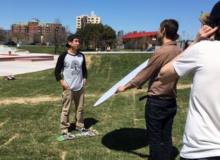 Mohawk Skateboarder Featured on APTN News