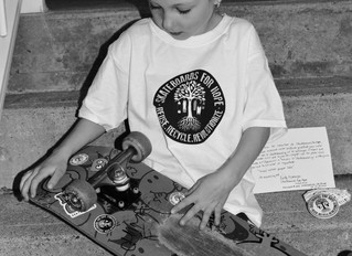 Six Year Old Lily-Rose Becomes Youngest Skateboards For Hope Ambassador